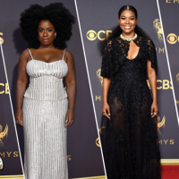 Our Favorite Natural Hairstyles from The 69th Annual Emmy Awards Red Carpet