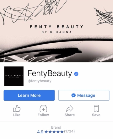Fenty Beauty| Facebook