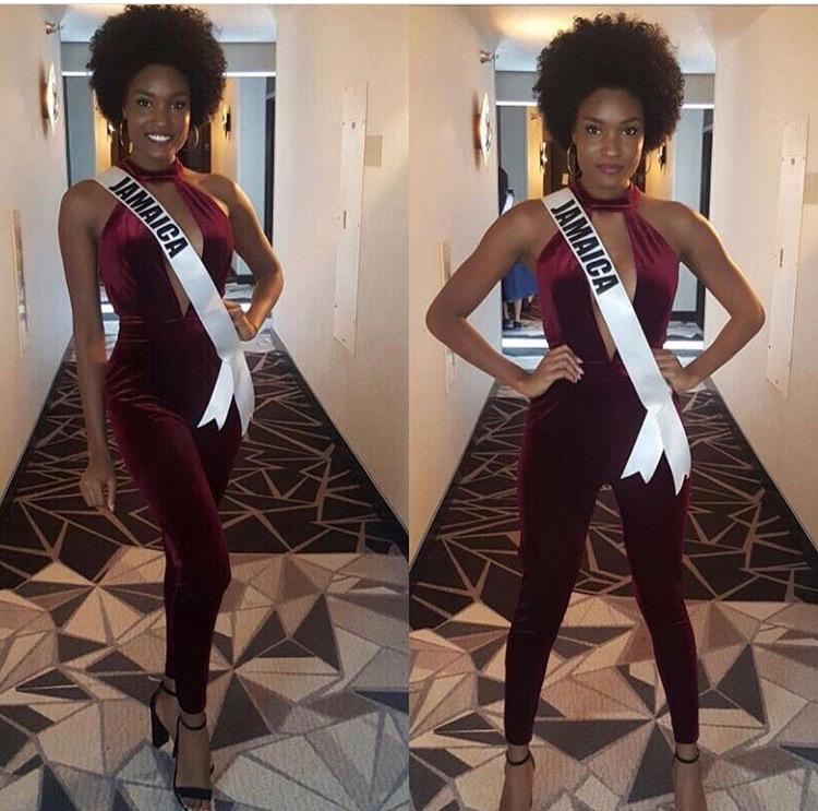 Davina Bennett| Miss Universe 2017