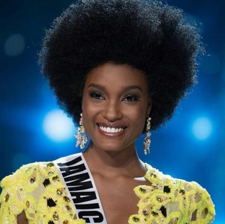 Davina Bennett| Miss Jamaica